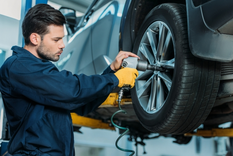 Montagem e Balanceamento de Pneus Preço Perdizes - Montagem de Pneus em Carros