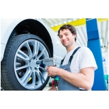 montagem de pneu Granja Viana