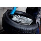 oficina para montagem de pneus para veículos Cerqueira César