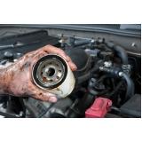 troca de filtro de óleo automotivo Sumaré