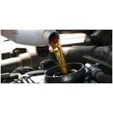 troca de óleo de veículos